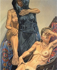 models/garden figure by philip pearlstein