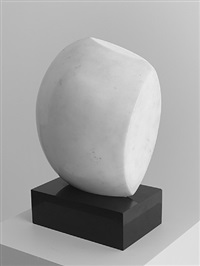 mediterranean sculpture i (orphic dream) by hans arp