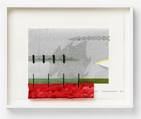 """pacific seriously"" by richard tuttle"