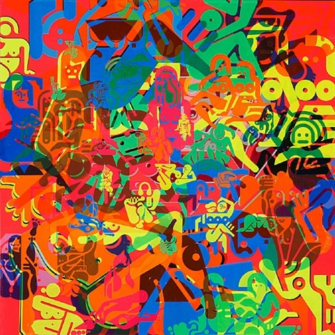 untitled (women painting 9) by ryan mcginness
