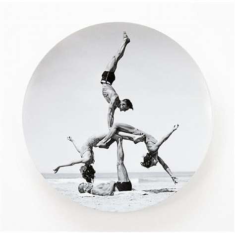 plate by jeff koons