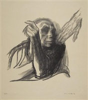 call of death by käthe kollwitz