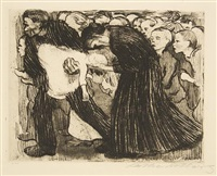 run over by käthe kollwitz