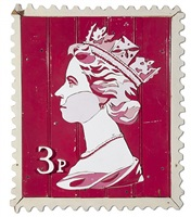 3p queen stamp by diederick kraaijeveld