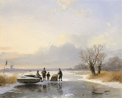 wintervergnügen by remigius adrianus van haanen