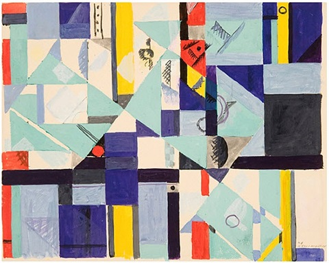 untitled abstraction no. 59 by albert swinden