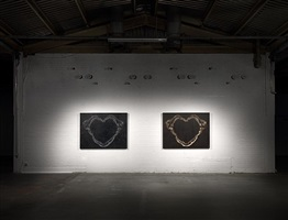 installation view, hus gallery, london by mark evans