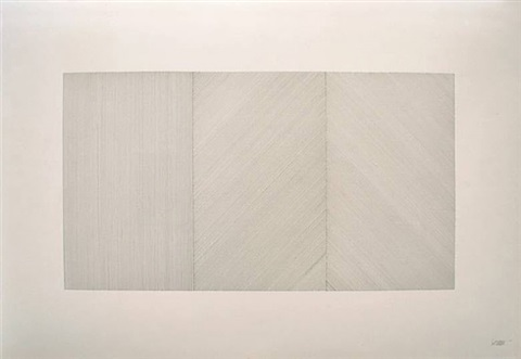lines in three parts by sol lewitt