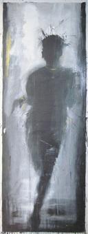 standing lady shadow #r1-r9 by richard hambleton