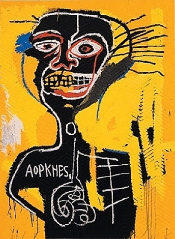 cabeza by jean-michel basquiat