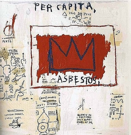 untitled per capita by jean-michel basquiat