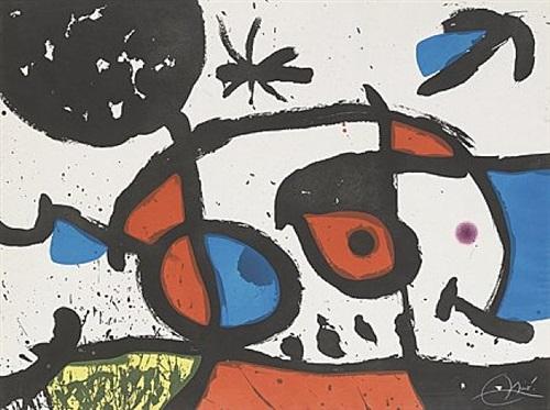 le bagnard et sa compagne (der sträfling und seine gefährtin) by joan miró