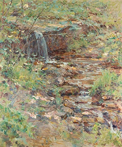 cascading brook by robert reid