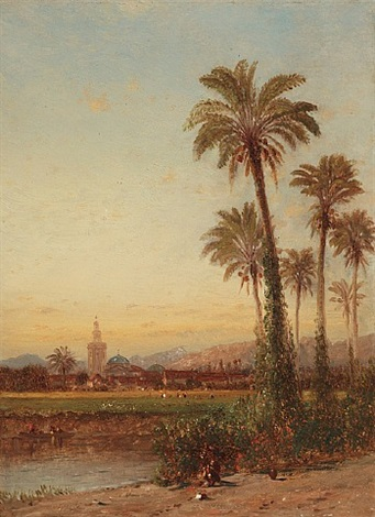 palms of valencia by samuel colman