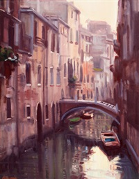 canal scene by joe abbrescia