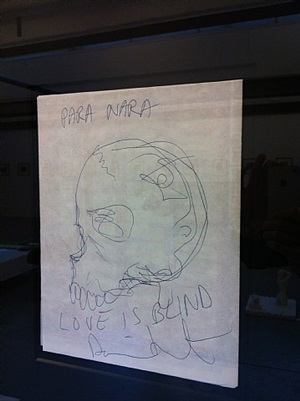 love is blind by damien hirst