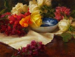 the blue bowl (sold) by stephanie birdsall