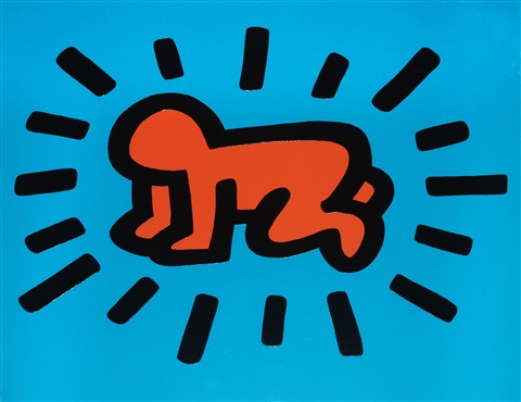 icons 1 radiant baby authenticated by keith haring
