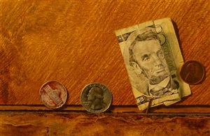 five dollars & thirty one cents (sold) by dan brown