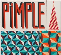 untitled (pimple) by barry mcgee