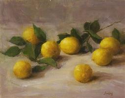 lovely lemons (sold) by stephanie birdsall
