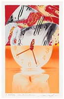 hole in the center of the clock by james rosenquist