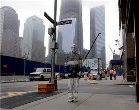 ground zero by liu bolin