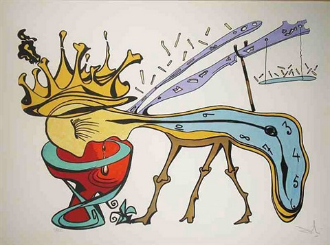 royal insect by salvador dalí