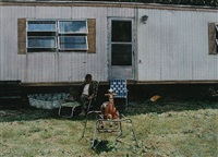 trailer with rocking horse by john salt