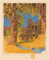 sanctuario- chimayo by gustave baumann