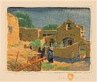 talpa chapel by gustave baumann