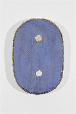 blue with two circles by otis jones