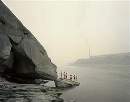 yibin i (bathers), sichuan province by nadav kander