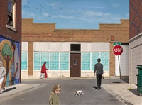 olive & market street by julie blackmon