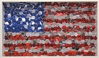 moving flag by david datuna