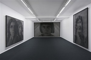 installation view galleri k, 2012 by anne-karin furunes
