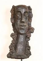 femme aux cheveux longs revenant sur la poitrine, n°811 by andré derain