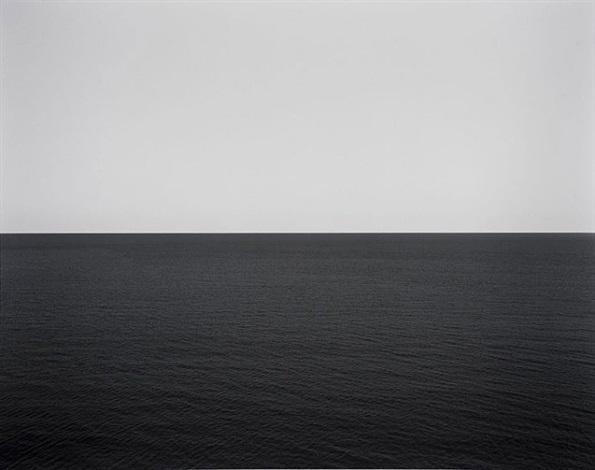 marmara sea, silivli #370 by hiroshi sugimoto