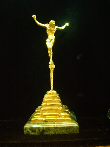 christ of saint john of the cross by salvador dalí