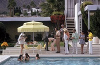 poolside party by slim aarons