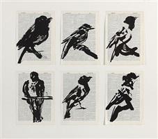 universal archive (six birds) by william kentridge