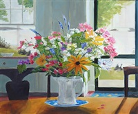 summer kitchen, casco bay by phoebe porteous