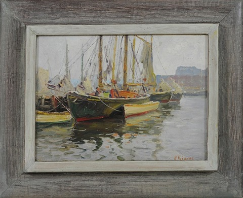 in harbor by anthony thieme