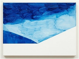 untitled (paris blue) by robert holyhead