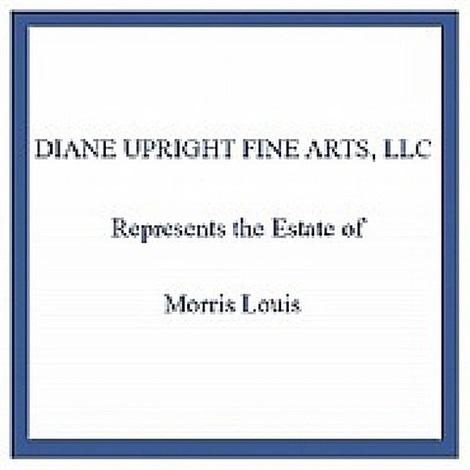 the estate of morris louis by morris louis