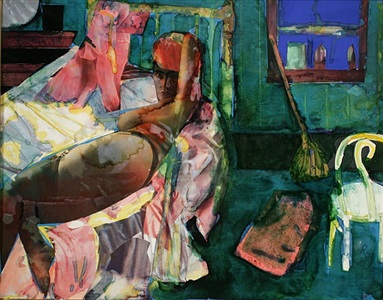 cora's morning by romare bearden