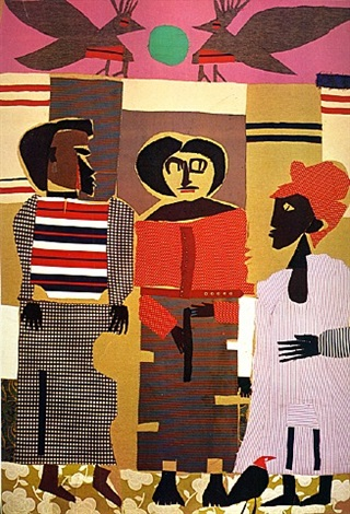 junction piquette by romare bearden