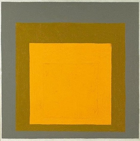 homage to the square: recurring theme by josef albers