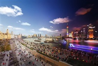 day to night shanghai by stephen wilkes