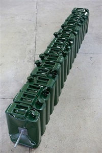 untitled (jerry can rod) by matias faldbakken